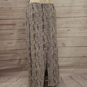 Free People Button Front Maci Skirt